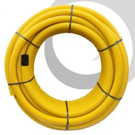 sc 1 st  Drainfast & 80mm OD Perforated Gas Duct x50m Coil; Yellow | Drainfast Ltd
