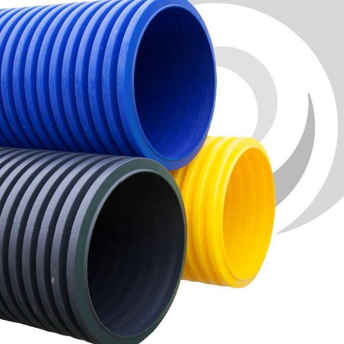 300mm Twinwall Gas / Yellow Ducting x 6m : gas pipe ducting - www.happyfamilyinstitute.com