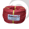 6mm Polypropylene Drawcord x220m Coil; Red