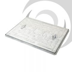 600mm x 600mm Galvanised Manhole Cover & Frame