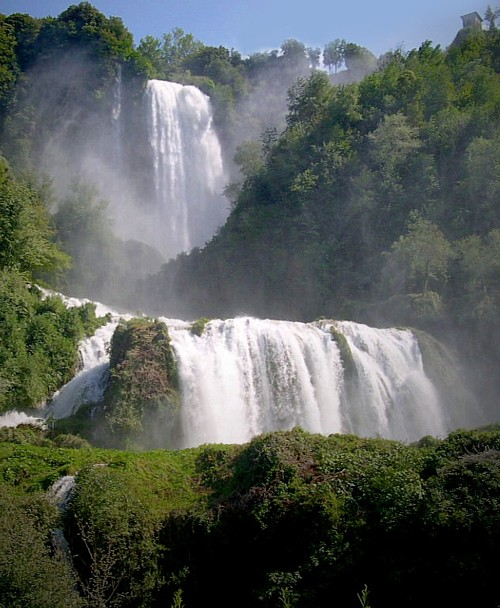 Land Drainage Creates the Tallest Man Made Waterfall