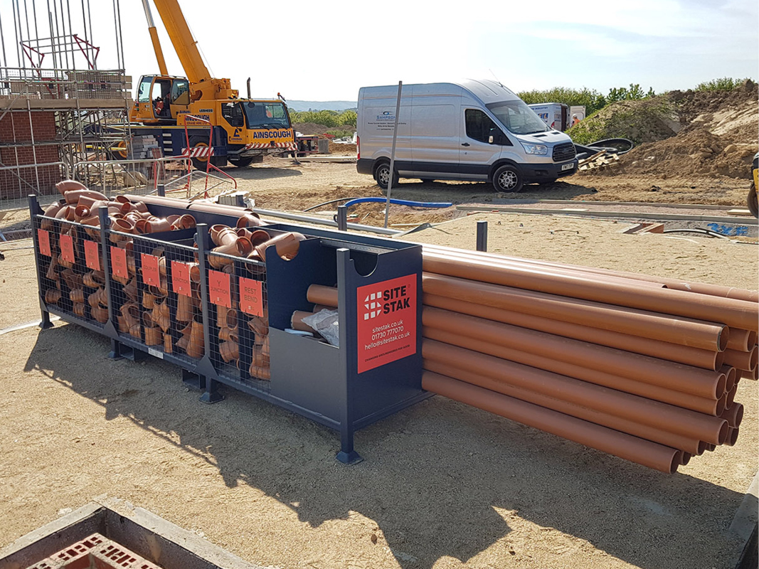 Five ways to improve your underground drainage installation process with The SiteStak System