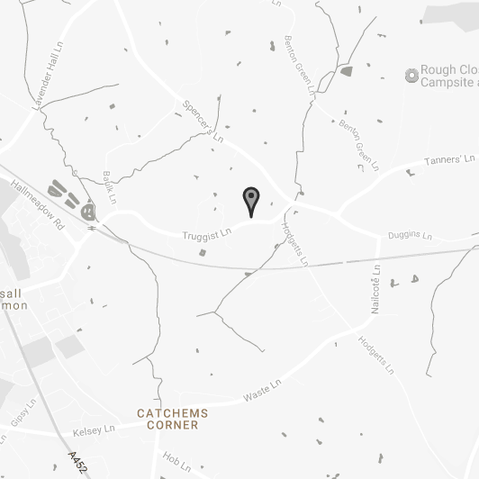 Coventry depot Location
