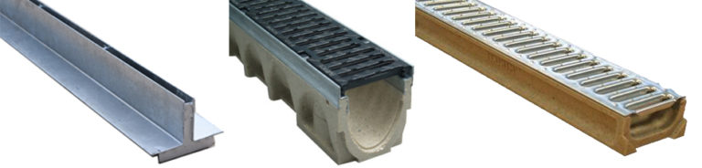 types of grating