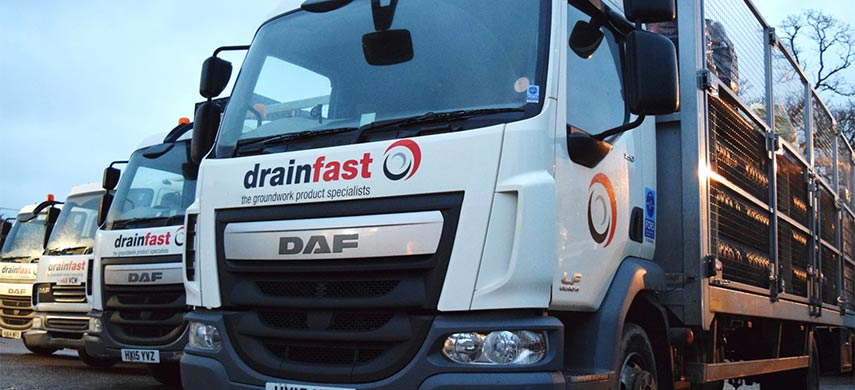 Drainfast Delivery Vehicle